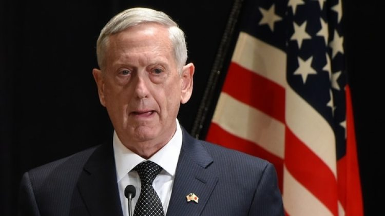 El secretario de Defensa de los Estados Unidos, James Mattis