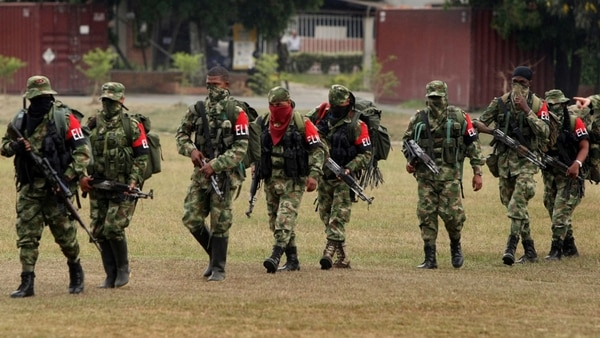 Dos muertos en un enfrentamiento entre ELN y disidentes de las FARC