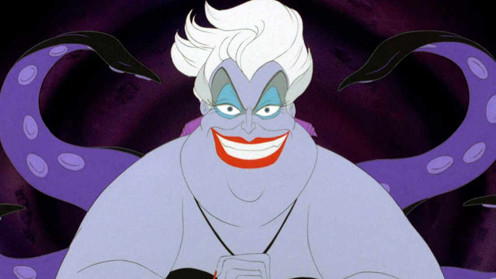 Ursula, Little Mermaid, Pantone Color of the Year 2018, Ultra Violet