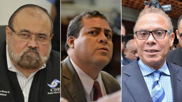 José Rivas Reyes, Julio Antonio Juárez Ramírez y Ángel Rondón Rijo