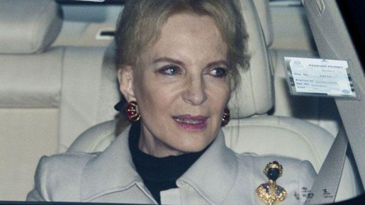 El broche utilizado por la Princesa María Cristina de Kent es considerado racista. Y ella tiene sus propios antecedentes de racismo