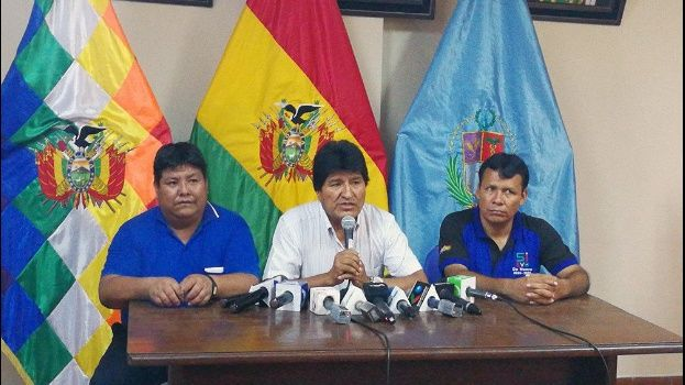 Morales se repostulará en las presidenciales de 2019 — Oficial
