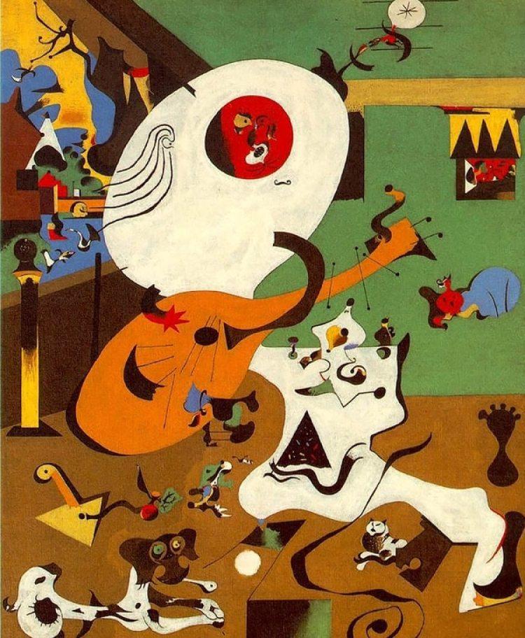 """""""Interior holandés"""" (1928)"""
