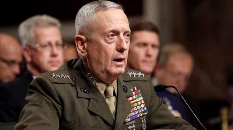 El general James Mattis, secretario de Defensa de Estados Unidos (Reuters)