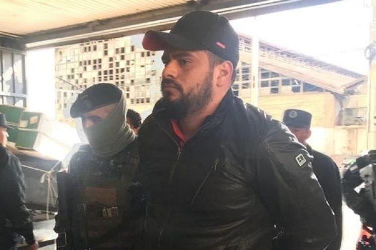 Así fue detenido Alex Ernesto Díaz Torres