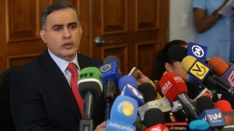 Tarek William Saab, fiscal general de Venezuela designado por el régimen de Maduro