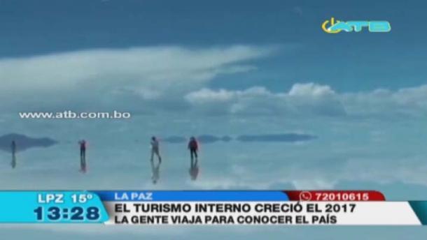 Boltur reporta que incrementó el turismo dentro del país
