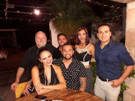 Gabriel Feldman,Juan Manuel D'Arruda, Karen Mercado, Diego Yabeta, Alejandra Martinez y Giovanni Gamarra