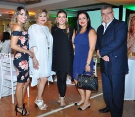 Silvana Barba, Norma Rodríguez, Jasmina Stanojevich, Jeanine Landívar y Orlando Peña.