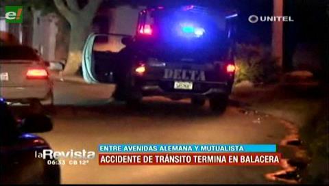Santa Cruz: Policía arrestó a seis personas tras accidente de tránsito y balacera