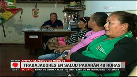 Trabajadores en salud iniciarán paro nacional de 48 horas desde este martes