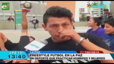Bolivia será sede del campeonato sudamericano de Freestyle Fútbol el 2018