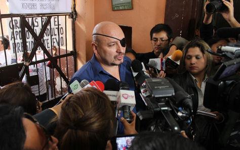 El Defensor del Pueblo durante su visita al penal de San Pedro de La Paz. Foto: Defensoría del Pueblo