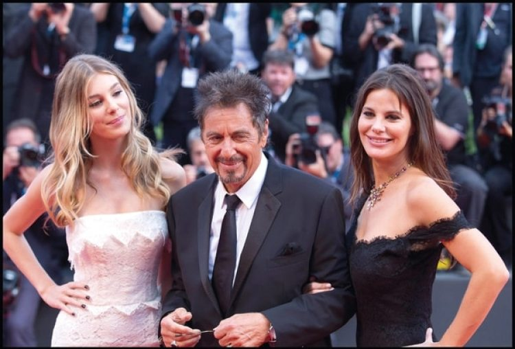Camila Morrone, Al Pacino y Lucila Polak