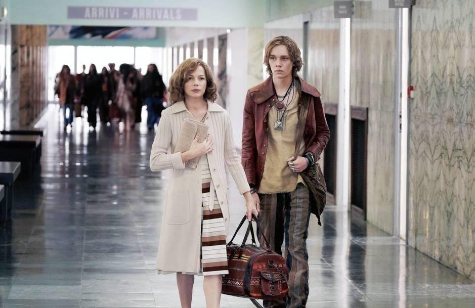 Gail Getty Jeffries y su hijo, según la nueva película de Ridley Scott. (Cordon Press)