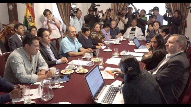 Morales pide al legislativo derogar artículos 205 y 137 del Código Penal