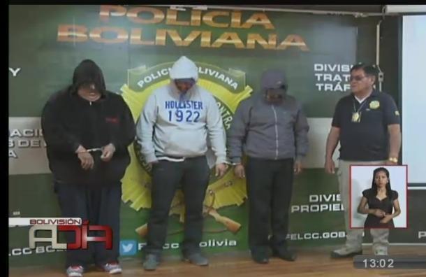 La Paz: Detienen a tres hombres por estafa múltiple