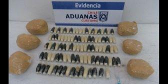 Menor boliviana llevaba droga a Chile en los tarros de leche de su bebé