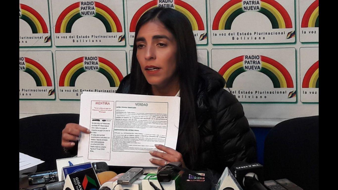Ministro: principal sindicato de trabajadores en Bolivia es aliado de la derecha