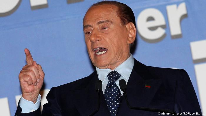 Sizilien Silvio Berlusconi in Palermo (picture-alliance/ROPI/Lo Bianco)