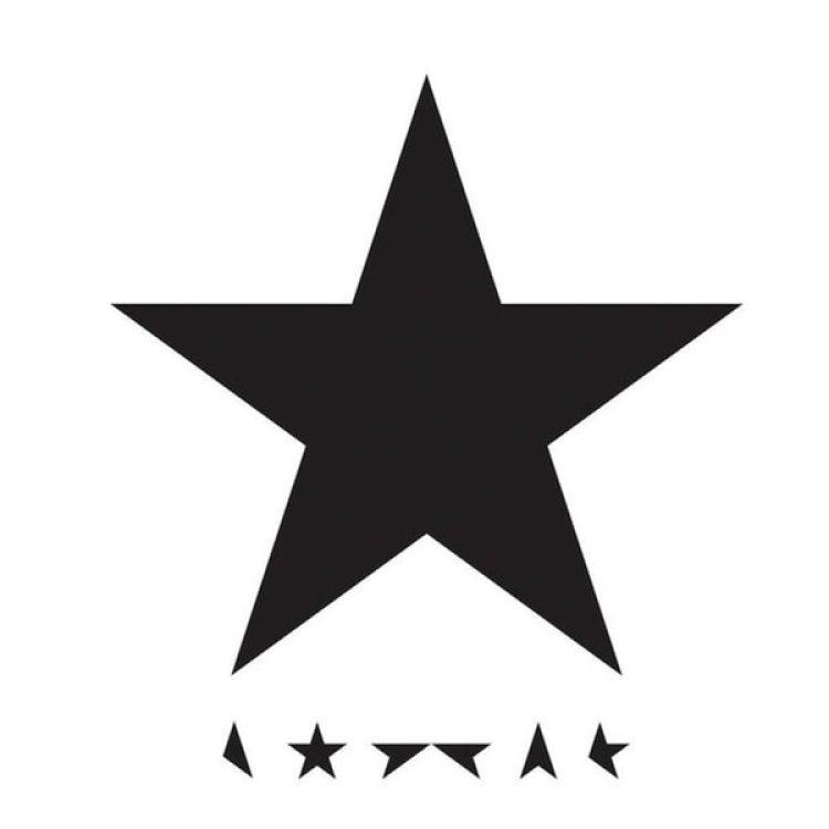 Portada de Blackstar, ultimo discoque editó David Bowie el 8 de enero de 2016, el mismo día de su 69º cumpleaños