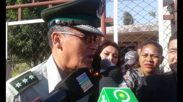 El comandante de la policía cruceña, Rubén Suárez. (El Deber)