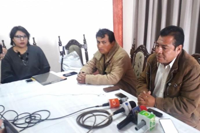 Los integrantes del Comité Departamental de Movilizaciones. Foto: CORREO DEL SUR