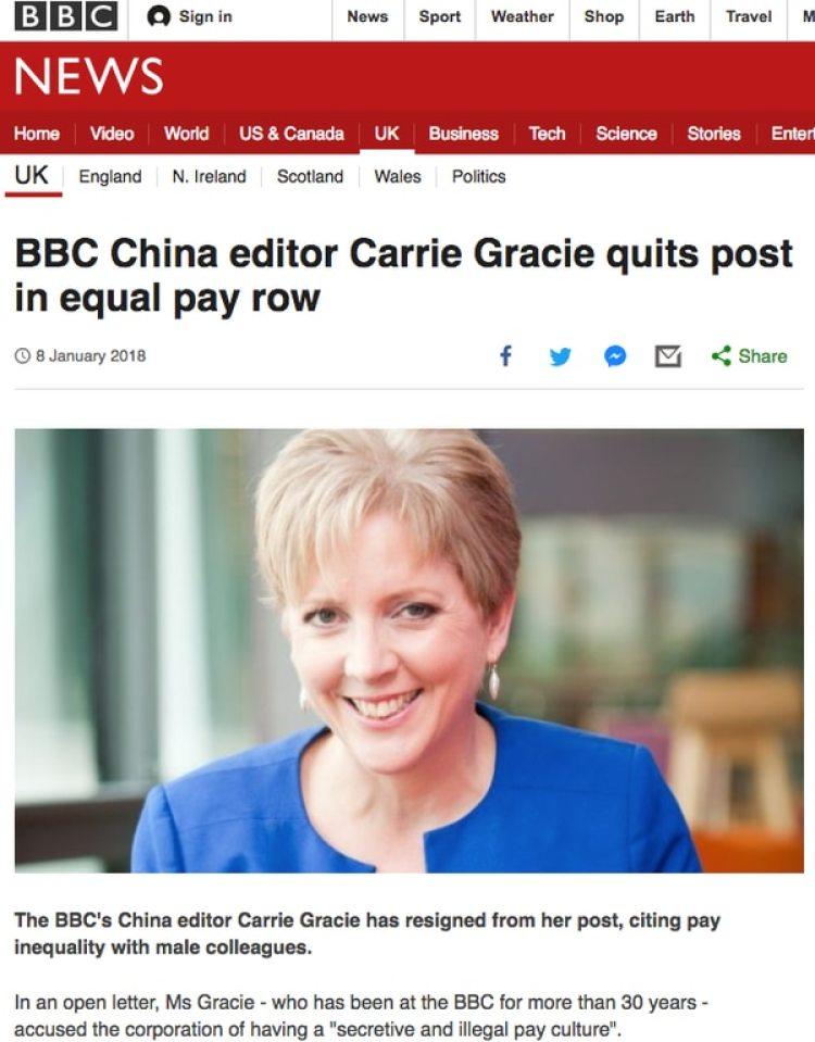 BBC se hizo eco de la noticia.