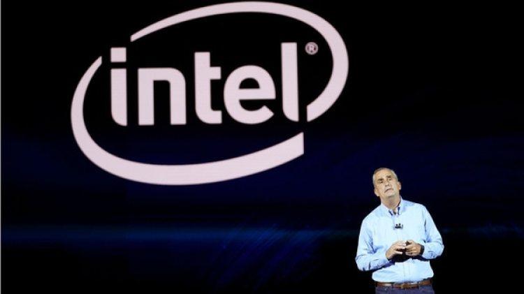 El director ejecutivo de Intel, Brian Krzanich, durante su discurso en el CES de Las Vegas (Reuters)