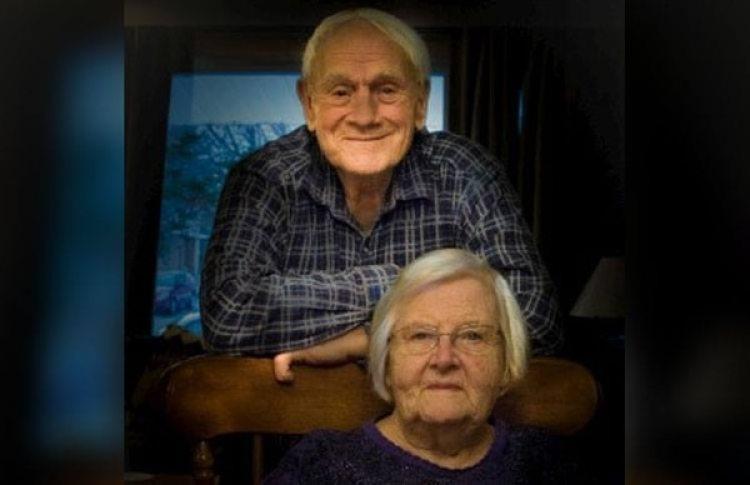 Grant Triebner, de 90 años y su esposa Ada Triebner, de 83 (Facebook/Luba Williams)