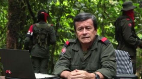 El comandante Pablo Beltrán de la guerrellia ELN. Foto: Zona Cero