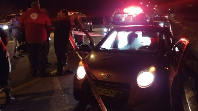 La escena del crimen (Foto: gentileza Haaretz)