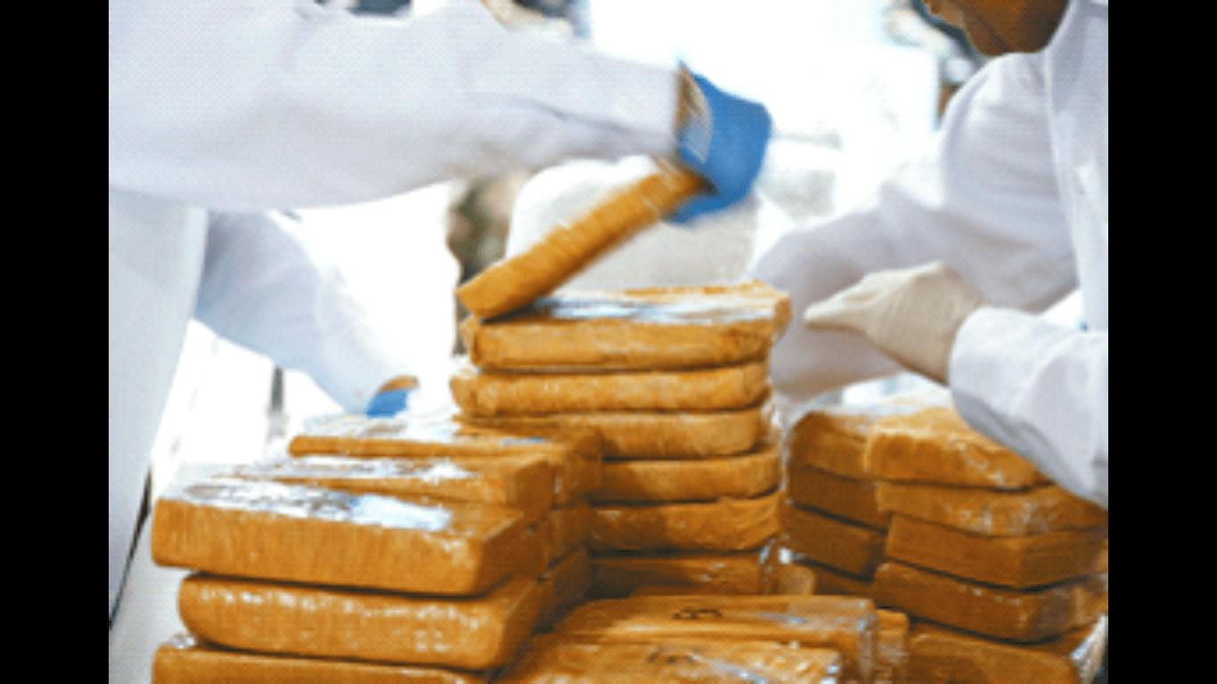La PDI incautó dos toneladas de cocaína avaluada en $13.000 millones