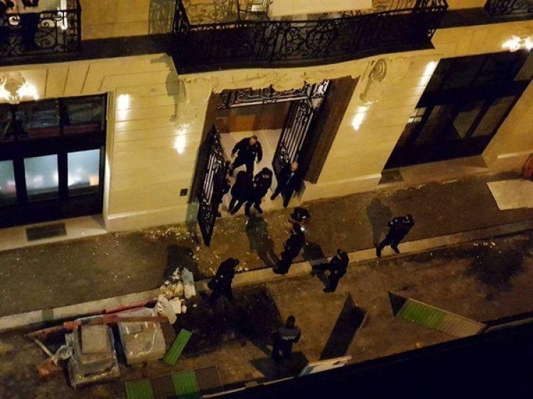 La escena del robo (Davy Parker/via REUTERS)
