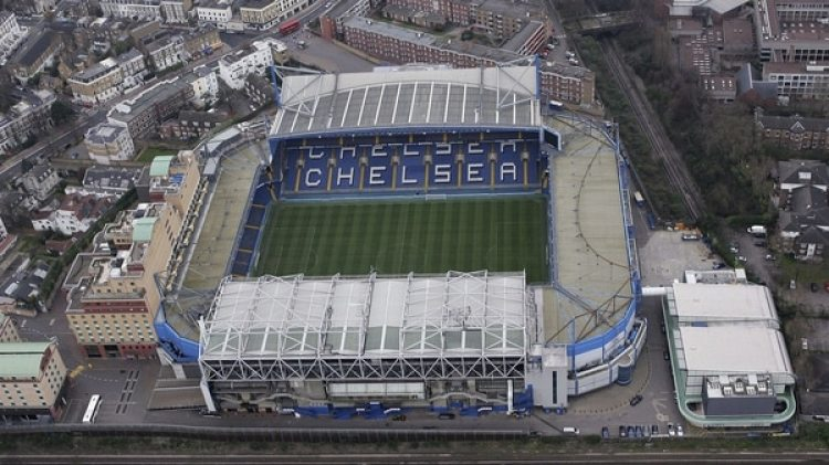 Una vista aérea del estadio en 2007 (Getty)