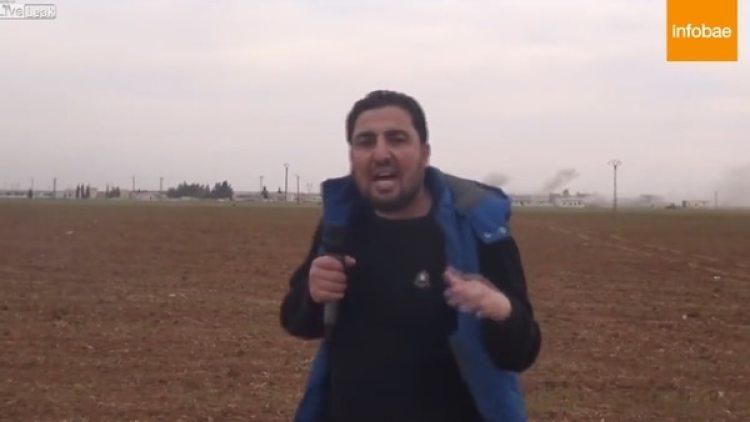 El periodista reportaba desde Idlib, en Siria