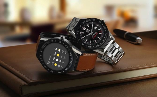 El lujo de Tag Heuer vuelve a coquetear con los relojes inteligentes