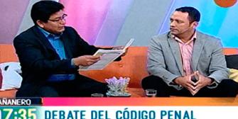 Diputados Dorado y Montaño debatieron sobre el microtráfico de droga en el nuevo Código Penal