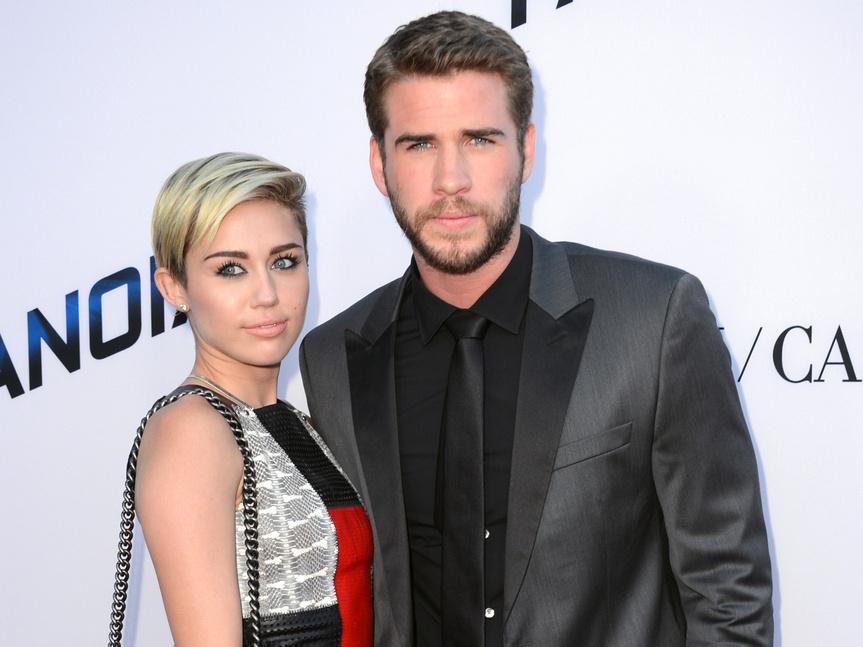 Confirman que Miley Cyrus y Liam Hemsworth ¡ya son marido y mujer!