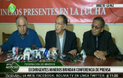 Pimentel, Ramírez y Gómez, exdirigentes mineros, cuestionan a la nueva Conade.