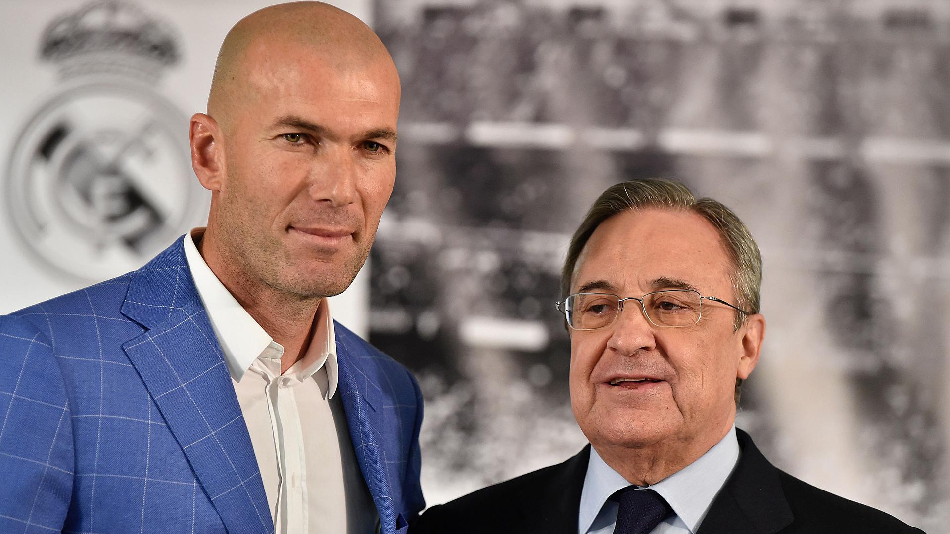 Resultado de imagen para zidane y florentino