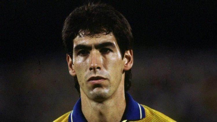 Andrés Escobar, jugador de la selección Colombia y Atlético Nacional asesinado en Medellín.