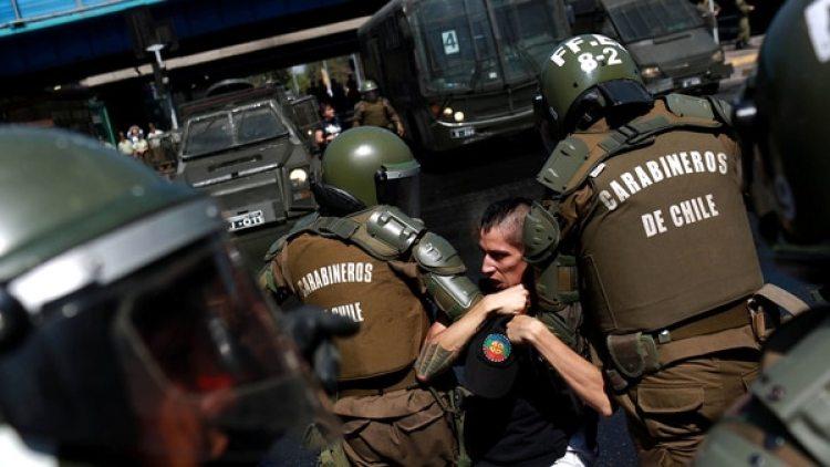 El martes hubo protestas por la visita del Papa a Chile (Reuters)