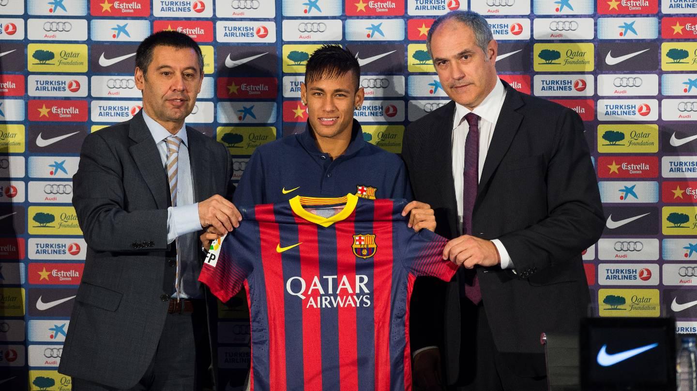Resultado de imagen para neymar jr presentacion barcelona 2013