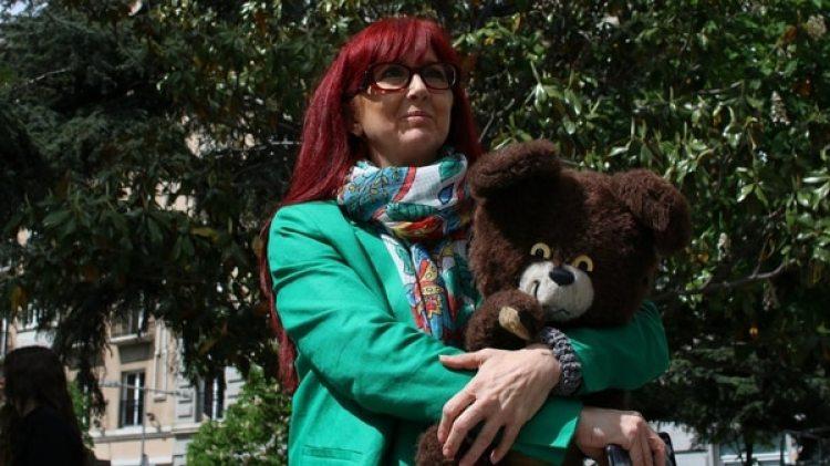 Gloria Viseras, ahora con 52 años, pudo llevar a buen puerto el proceso judicial contra su entrenador