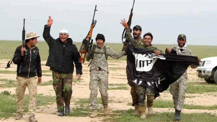 Terroristas del Estado Islámico