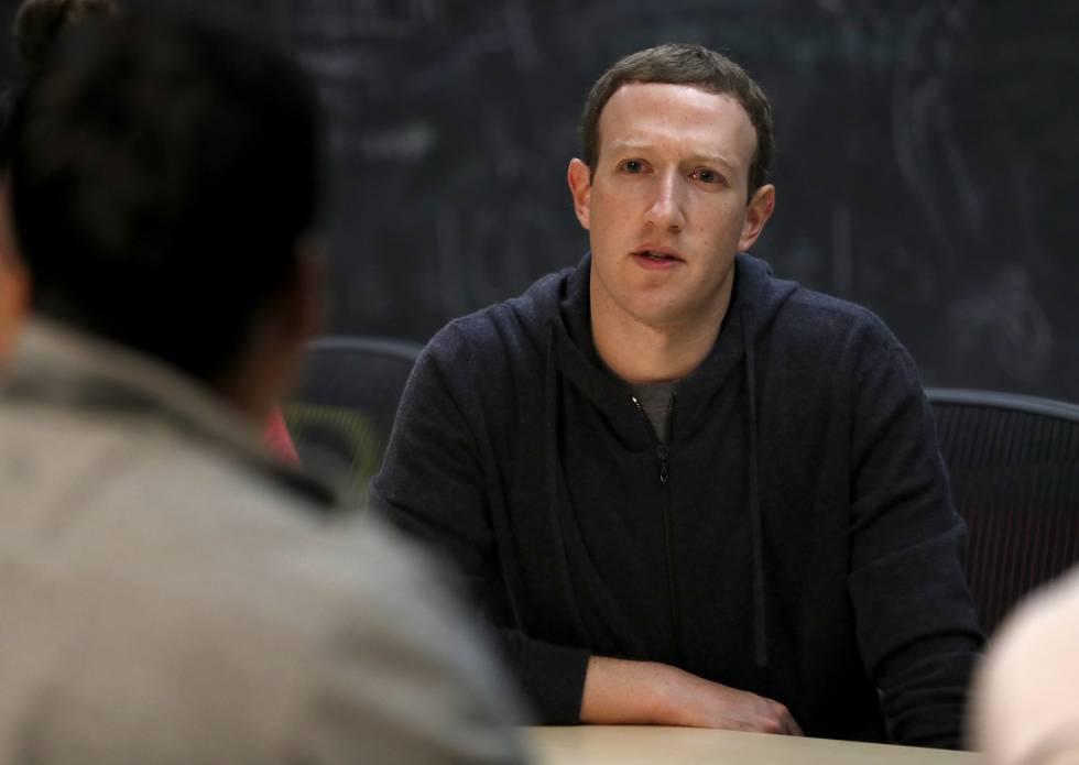 Mark Zuckerberg en un encuentro con emprendedores en Noviembre de 2017.