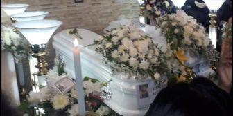 Los cuerpos de Carla y Jesús serán sepultados hoy en La Paz