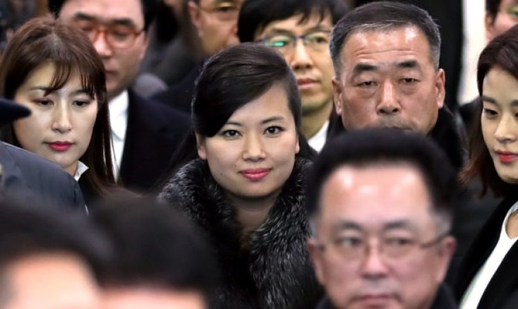 Hyon Song Wol, principal responsable de los delegados norcoreanos
