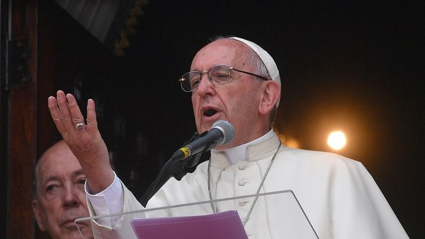 Francisco denunció que América Latina está en crisis por la corrupción